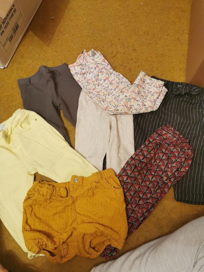 Pantalons 12mois