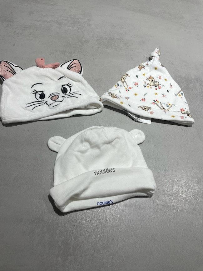 Lot de bonnet bébé
