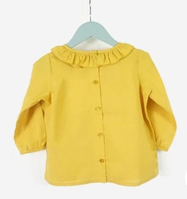Blouse jaune 3 mois