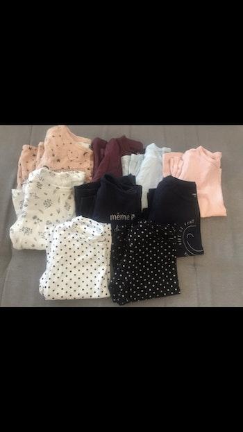 Lot 9 tshirts 9mois