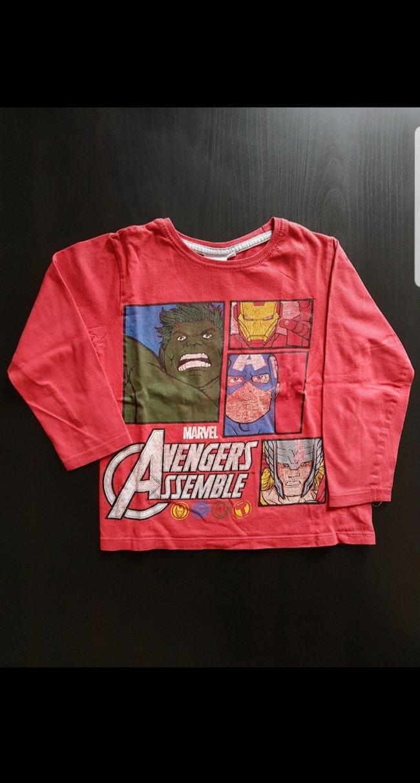 Tee-shirt Avengers Assemblé ML enfant garçon 4-5 ans