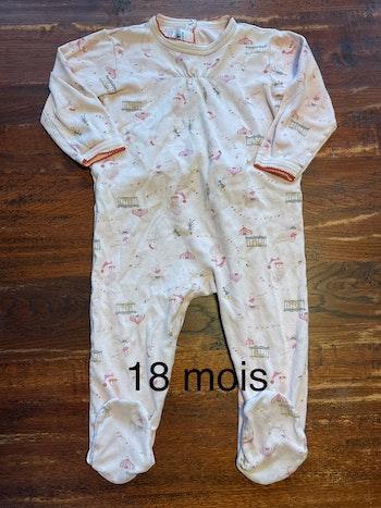 Pyjama Petit Bateau 18 mois