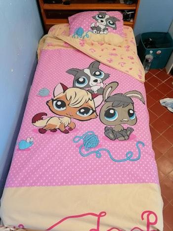 Parure de lit enfant Little Petshop / 3 pièces
