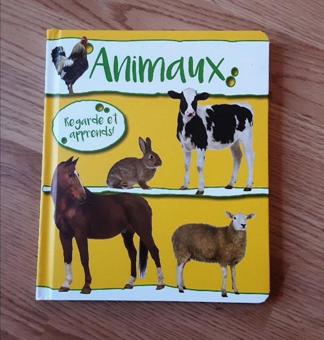 Livre cartonné neuf sur les animaux