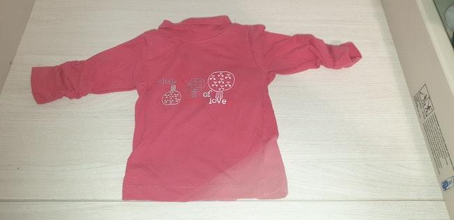 T-shirt col roulé
