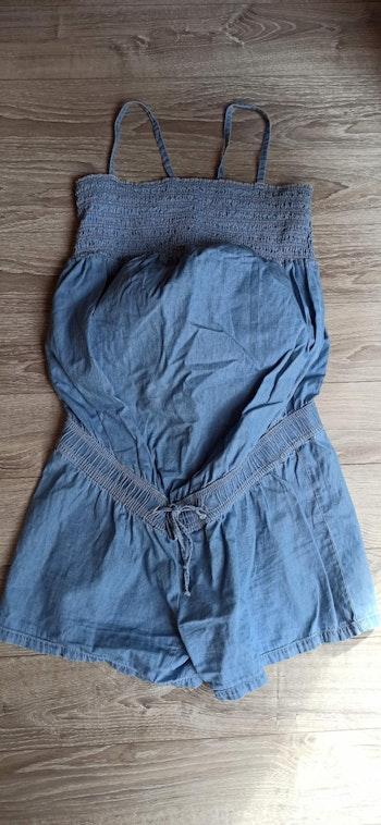 Combishort jeans souple