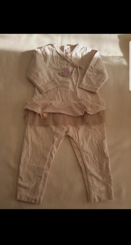 Pyjama 1 pièce enfant fille Repetto 18 mois