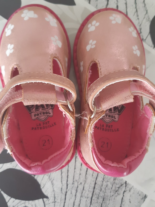 Chaussures pat patrouille taille 21