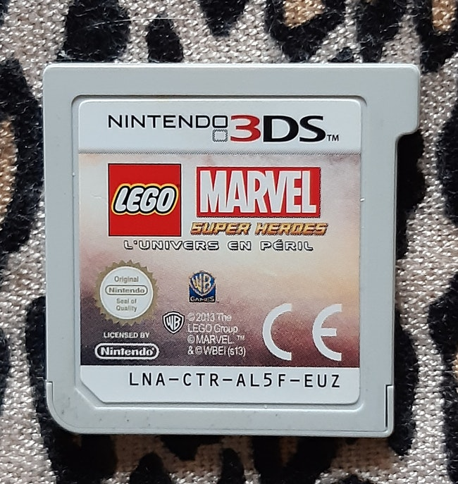 JEU NINTENDO 3DS - LEGO MARVEL SUPER HEROES