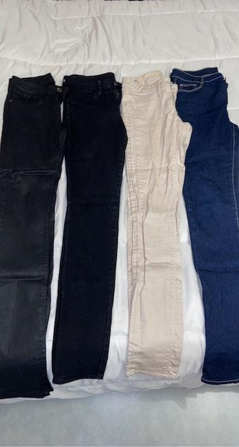 Lot 4 pantalons/jeans taille 36
