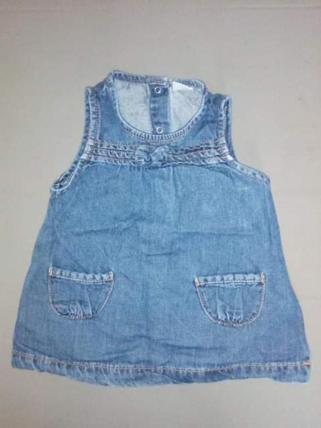 Robe en jean fille 3 mois