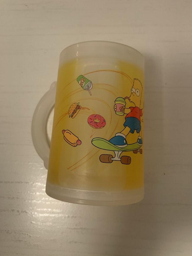 Chope en plastique Simpson