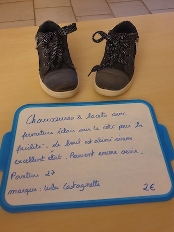 Lot 2 paires chaussures