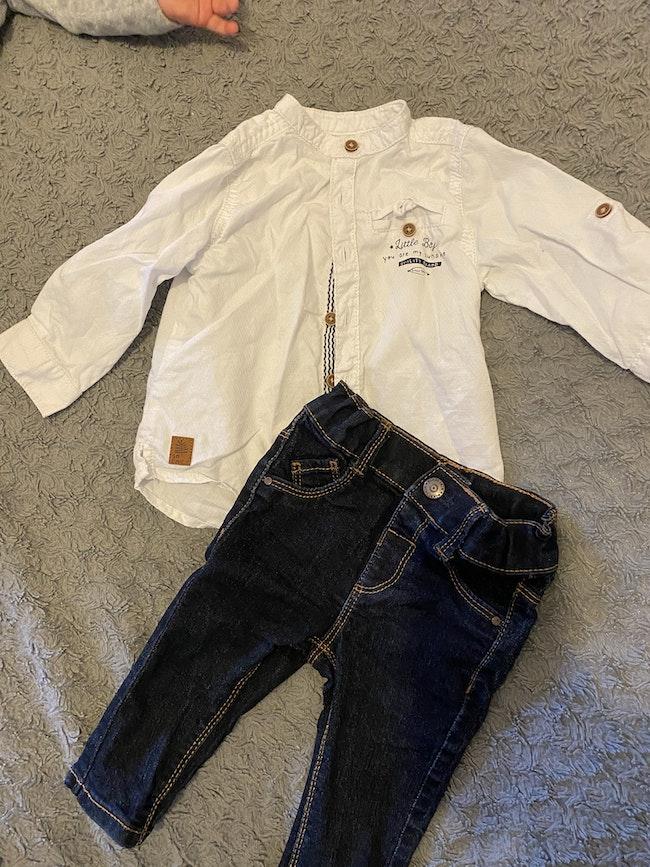 Ensemble jean et chemise