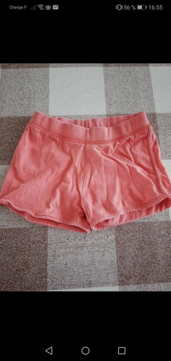Short 6 ans corail in extenso
