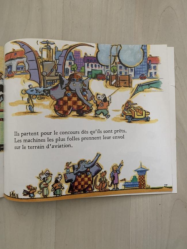 Livre «l'éléphant volant»