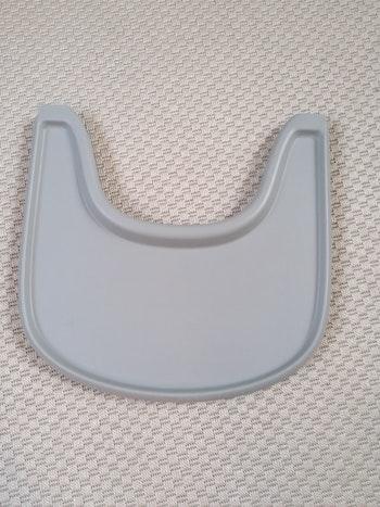 Stokke - plateau/tray + baby set gris