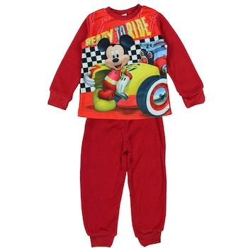 Pyjama polaire Mickey rouge 8 ans