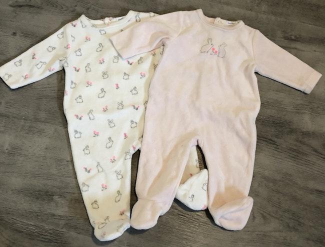 Lots pyjamas bébé fille