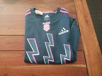 Maillot de rugby du stade français 12 ans Adidas