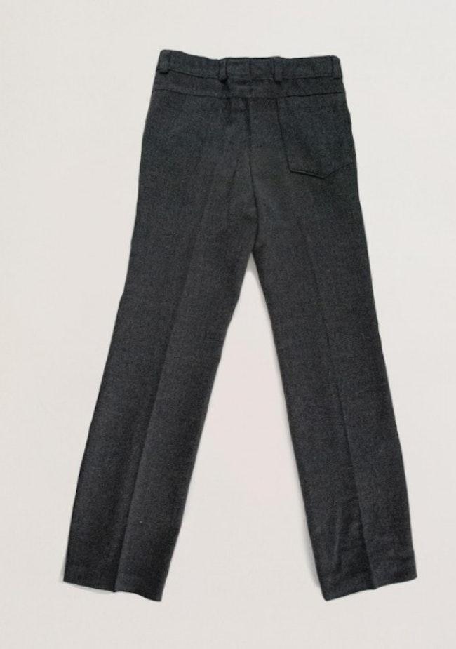 Pantalon à pinces anthracite
