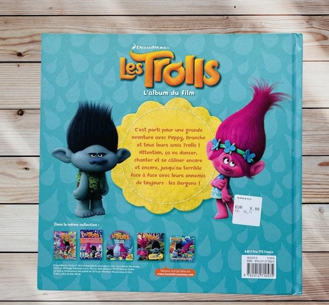 Livre Trolls - l'album du film