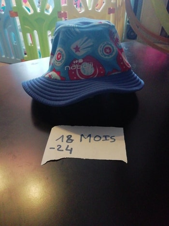 Bob chapeau anti uv 18 24 mois