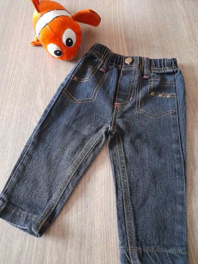 Jeans fille 9.12M