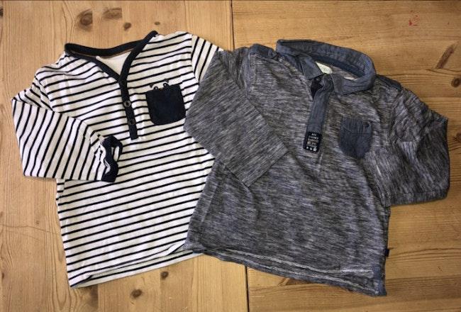 Lot tee-shirts manche longue