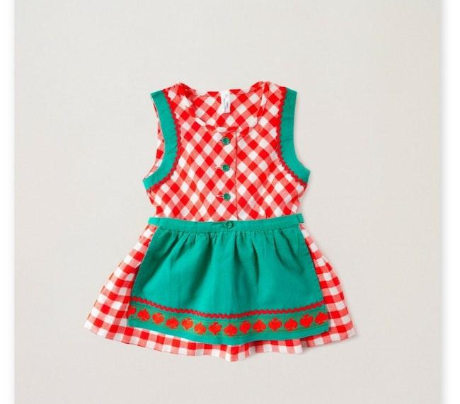 Robe tablier petite tyrolienne / 18-24 mois 18,00 €