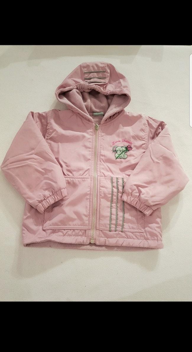 Manteau hiver à capuche enfant fille 3 ans
