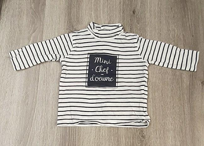 T shirt longue Manche 3 mois