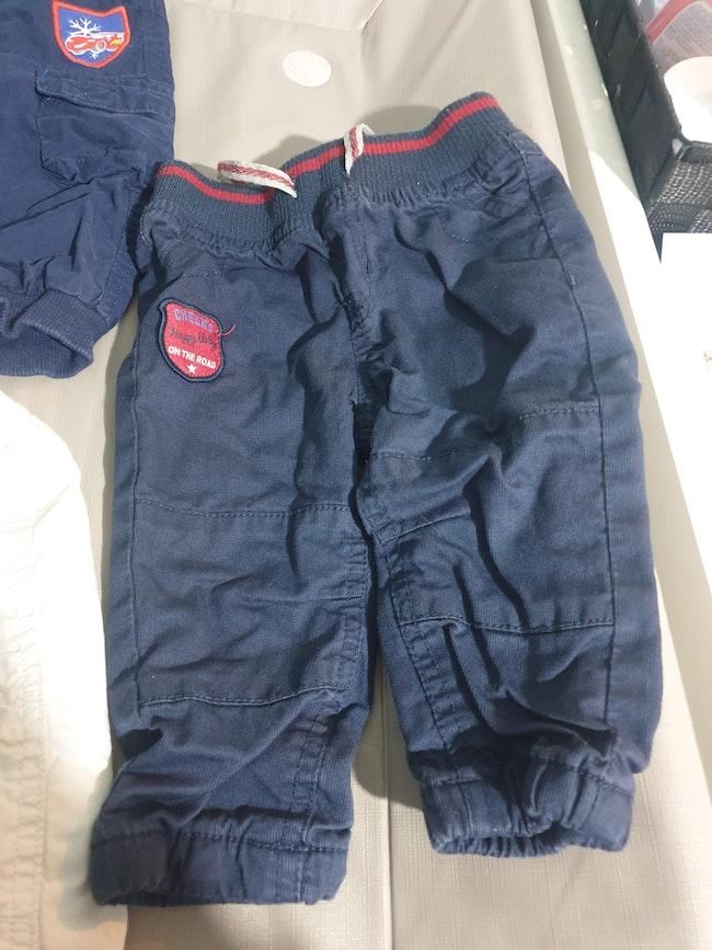 Lot de 3 pantalons 6Mois
