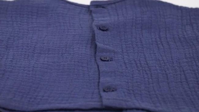 T-shirt bleu 3 mois