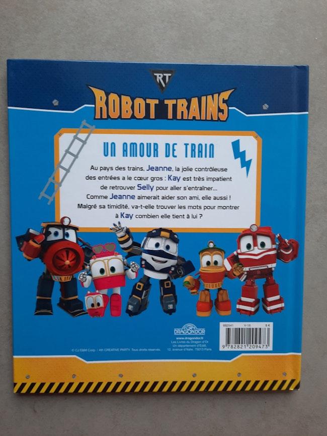 Livre Robot trains
