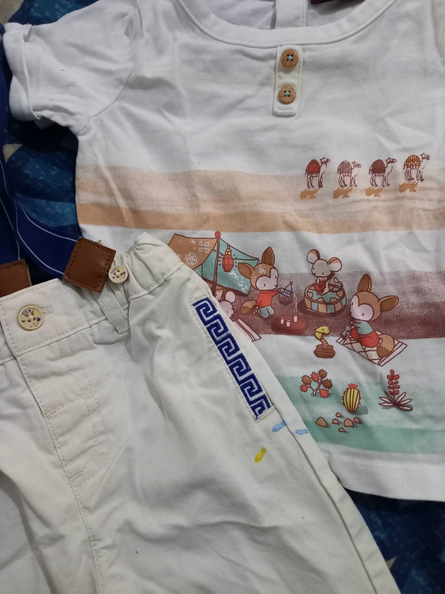 Ensemble pantalon tee shirt