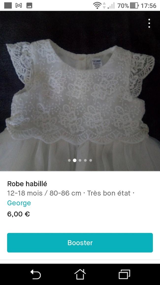 Robe habillé