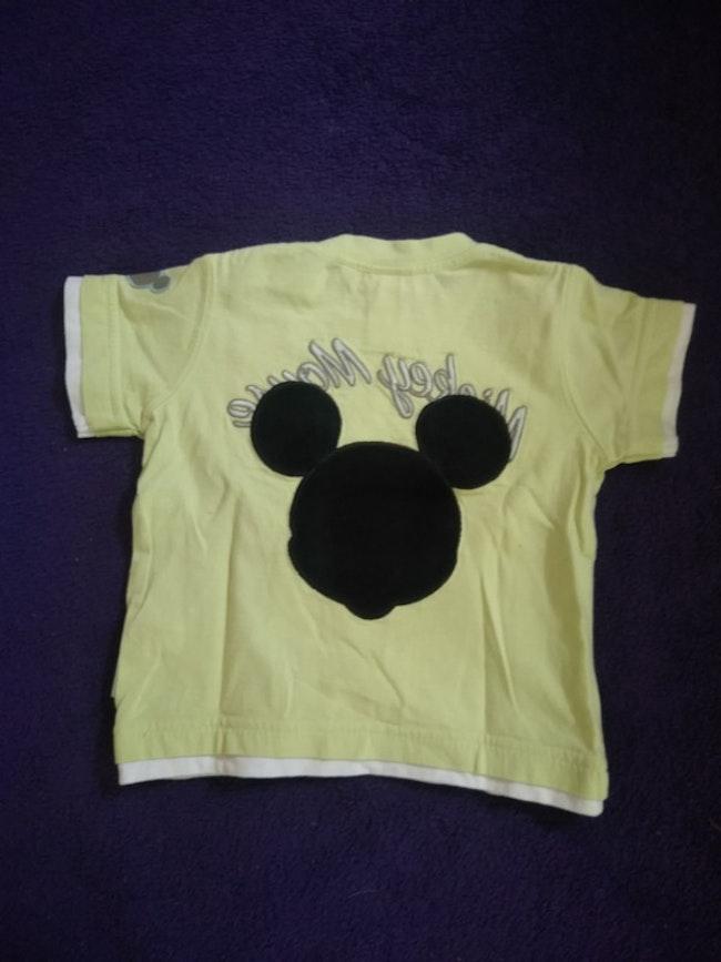 Tee shirt Mickey Disney baby taille 6 mois