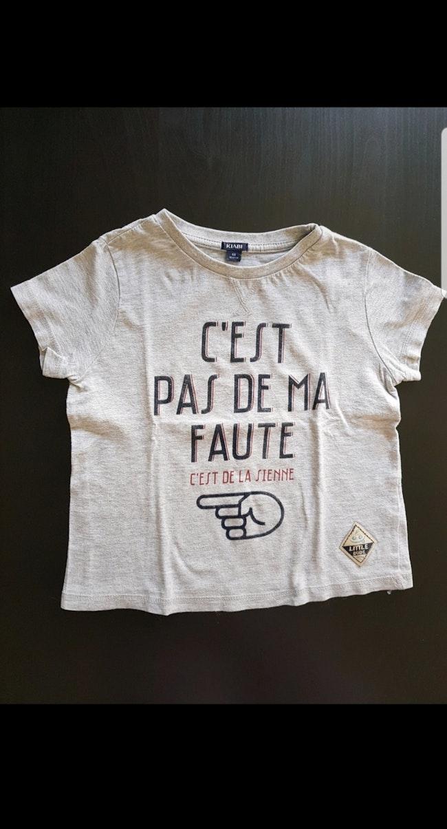 Tee-shirt MC enfant garçon 4 ans