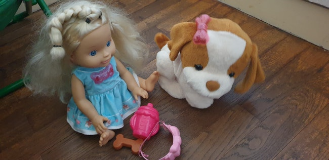 Lou et son chien