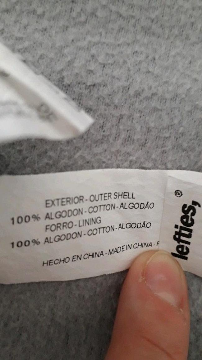 Robe salopette lefties taille 3/6 mois 100% coton