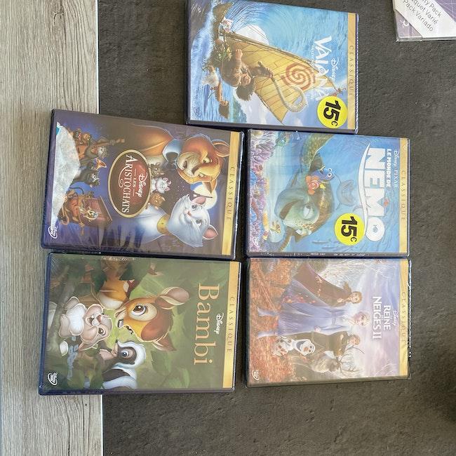 Lot DVD neuf Disney