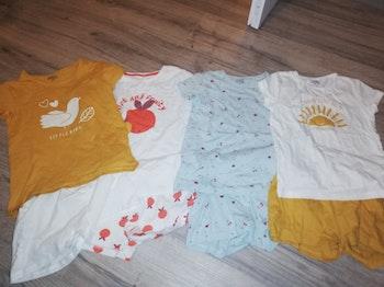Lots de 4 pyjashorts 8 ans
