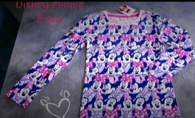 T-shirt 8 ans Disney Minnie