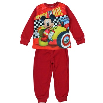 Pyjama polaire Mickey rouge 5 ans