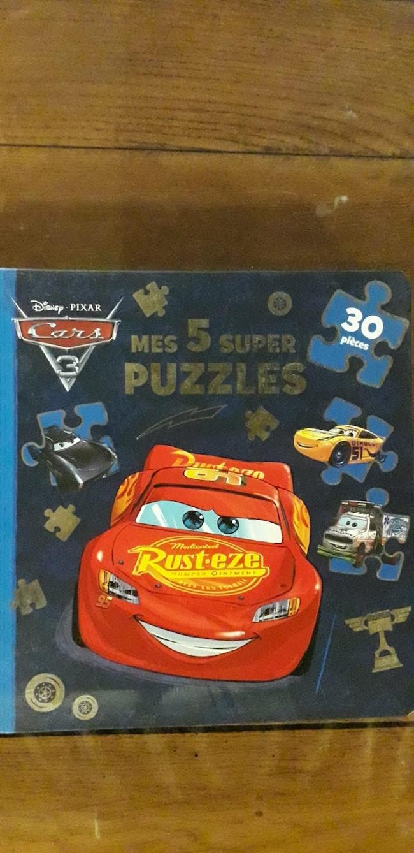 Lot de 2 livres puzzle