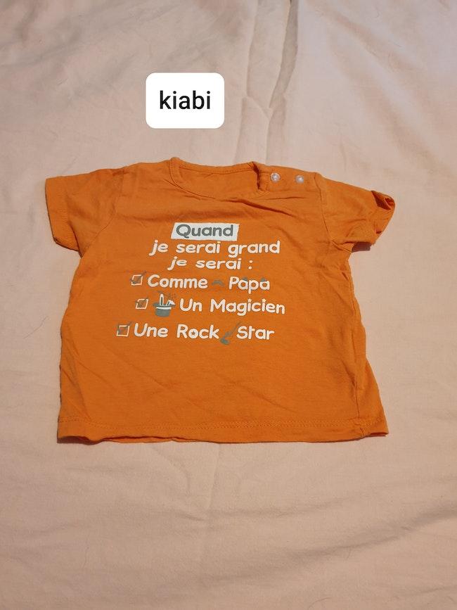 T-shirt quand je serais grand
