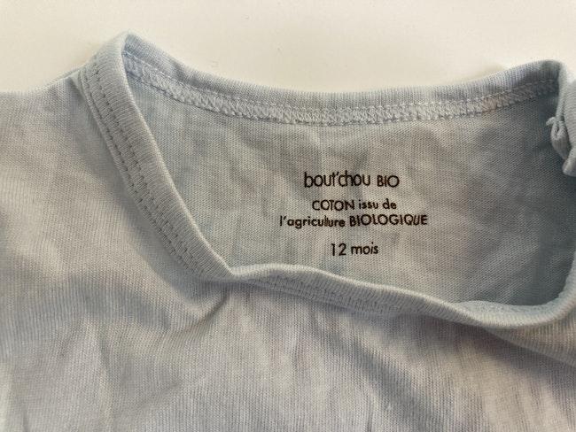 T Shirt bleu ciel Monoprix