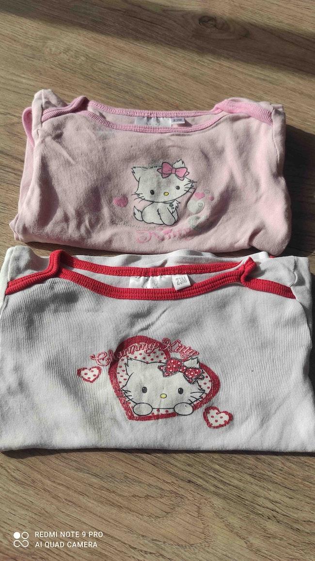 Lot 2 bodies Hello Kitty