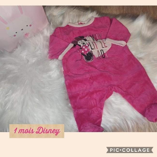 Pyjamas Minnie 1 mois